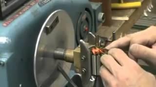 Bobinage d'un rotor de moteur