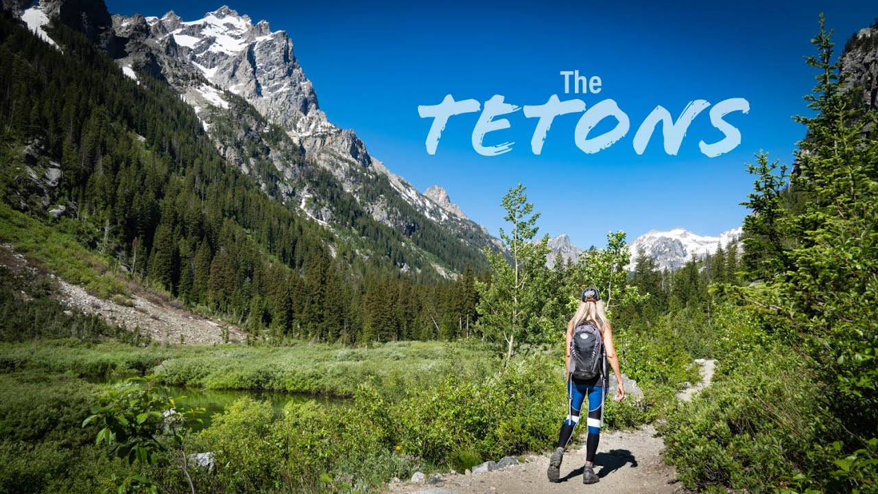 Grand Teton Adventure 2020 4K | Full Time Truck Camper Life