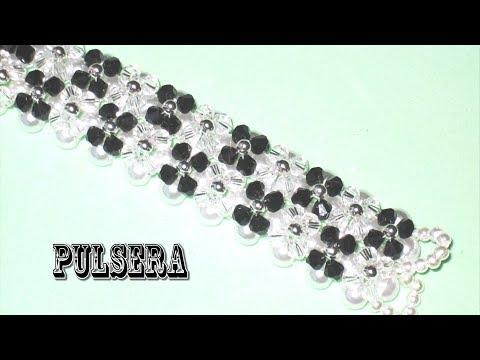 DIY - Pulsera flores de tupis DIY - Tupi flower bracelet