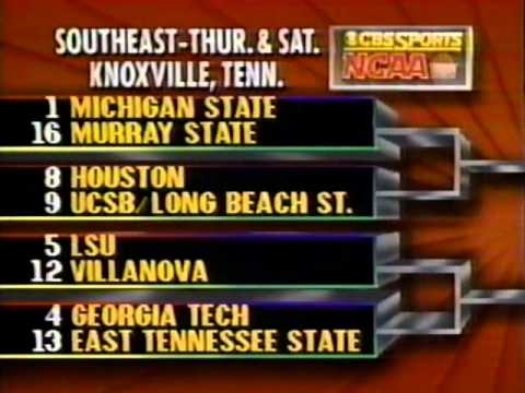 1990 NCAA Selection Show