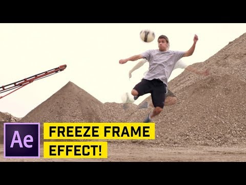 Rotoscope Freeze Frame Effect – After Effects CC Tutorial