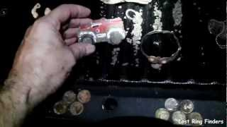 Late Night Treasure Hunting Galveston Texas Short Video June 04 2012