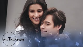 Behind The Scenes: Liza Soberano and Enrique Gil on Metro.Style