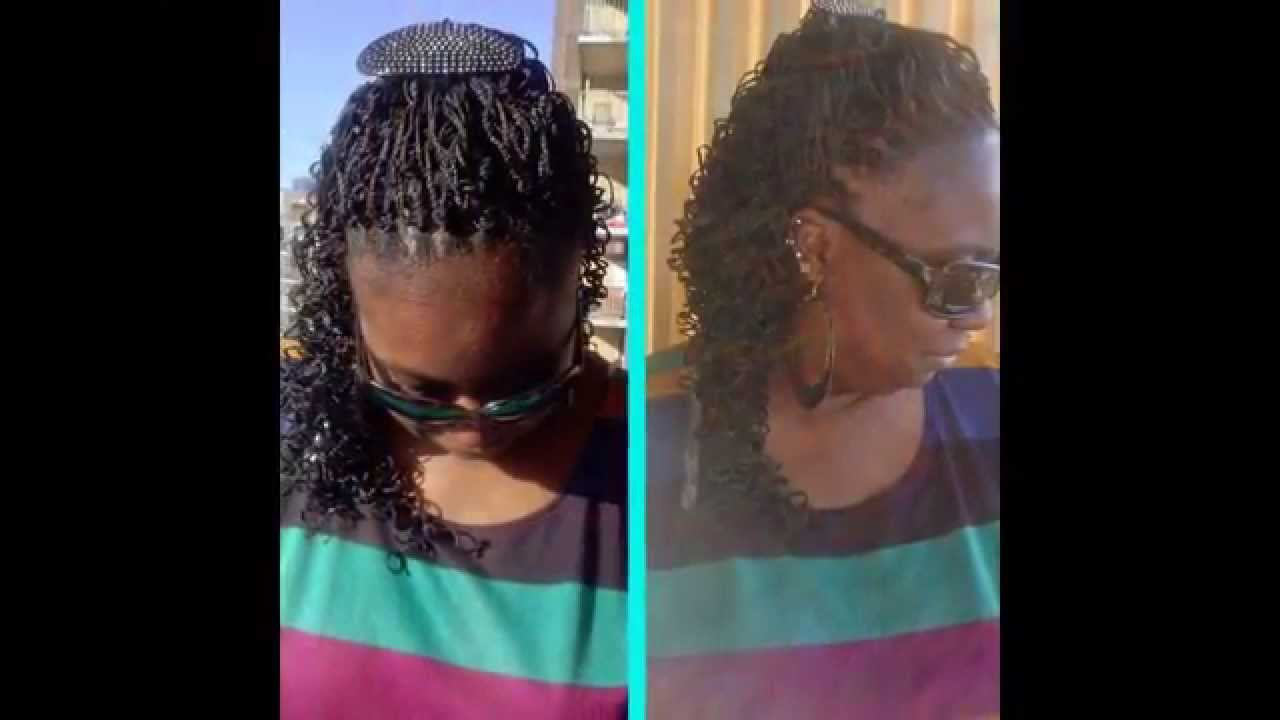 Micro S Curl Crochet Braids Black Hairstyle and Haircuts