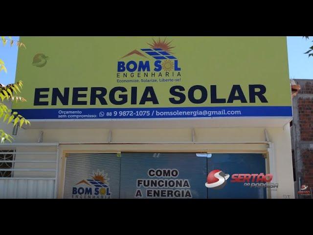 VÍDEO: BOM SOL ENGENHARIA MOSTRA VANTAGENS NA INSTALAÇÃO DE ENERGIA SOLAR NA CIDADE DE CAJAZEIRAS