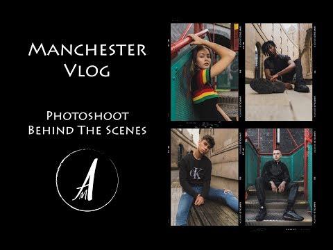 Manchester Portfolio Shoot Day | Vlog | Andrew Mclean