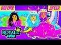 DISNEY PRINCESS MAKEOVER!! 👑 | Roblox Royale High School | Royal High School | Roblox Roleplay