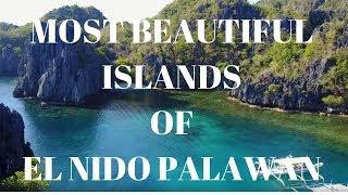 Most Beautiful ISLANDS of EL NIDO PALAWAN