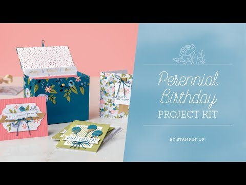 Perennial Birthday Project Kit by Stampin' Up!