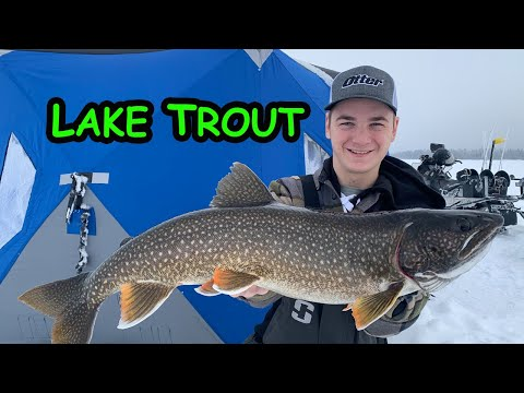 Ice Fishing Lake Trout - 3 Tips (Northern Manitoba)