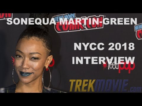 Sonequa Martin Green Talks 'Star Trek: Discovery' Season 2 At NYCC 2018 Press Roundtable