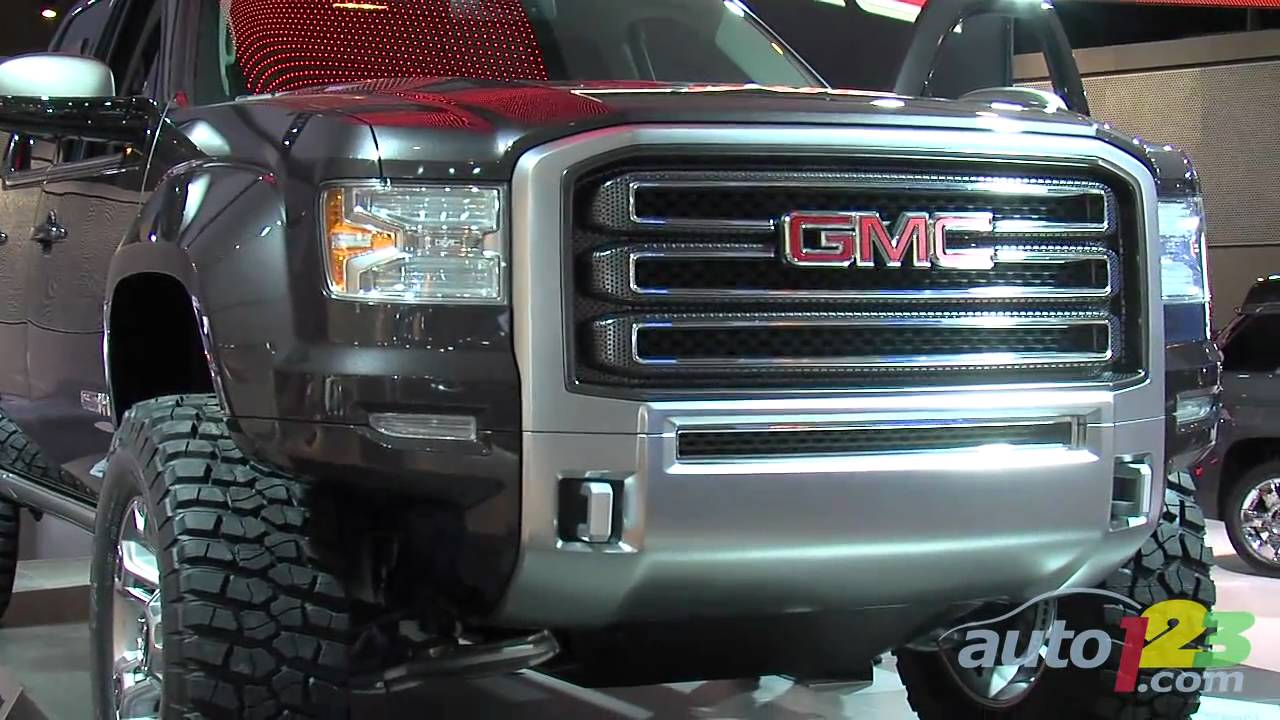 GMC Sierra All Terrain HD Concept at Detroit 2011 - YouTube