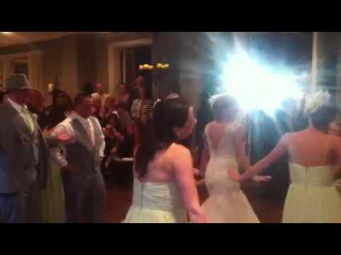 Wedding Reception Flash Mob Dance Youtube