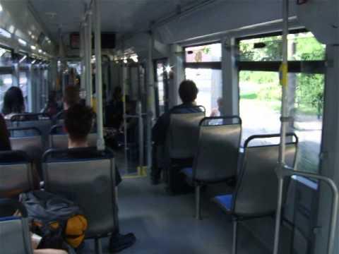 Leipzig tram inside 8.06.2014