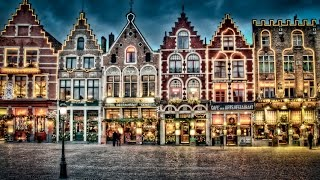 A Walk Around Ghent and Bruges, Belgium