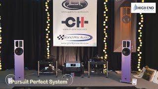 Welcome to pursuit perfect system video coverage for the high end munich 2018 hifi show http://www.highendsociety.de/index.php/en/for-visitors.html this is t...