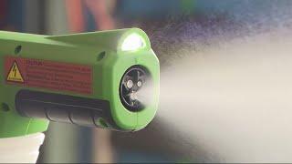 Electrostatic Sprayers In High Demand To Clean Coronavirus