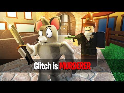 Glitch Vs Murder Mystery 2 Roblox Youtube