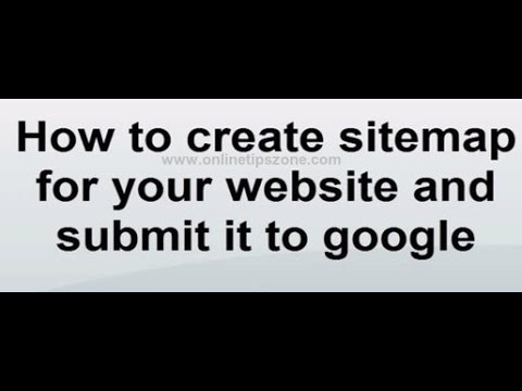 how to create sitemap for website xml sitemap creation youtube