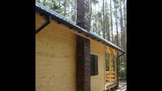 Dom szkieletowy z drewna JANAS , domy z drewna , domy szkieletowe , letniskowe