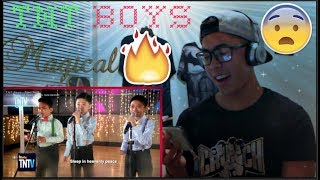 TNT Boys - Silent Night FIRST TIME REACTION! (THE FUTURE STARS!)