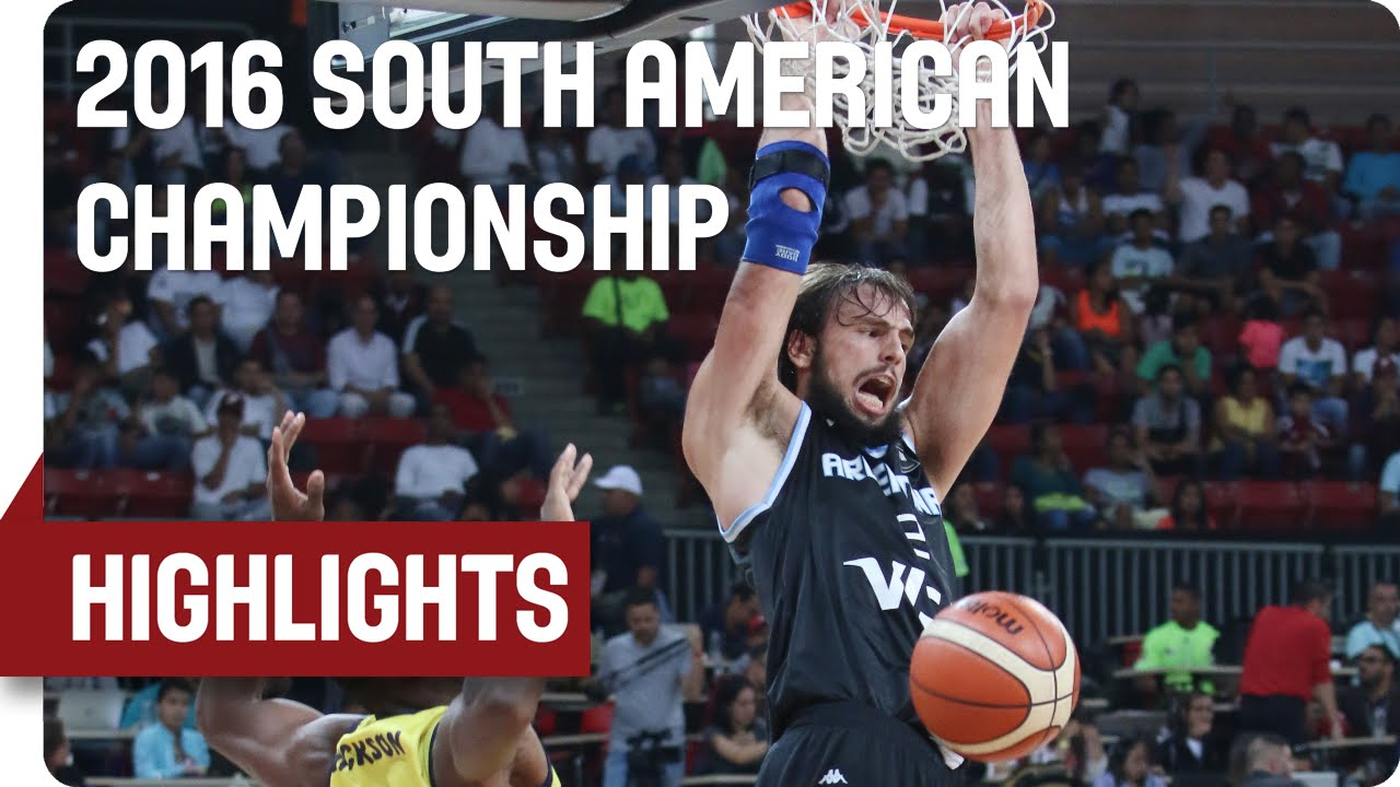 Colombia (COL) v Argentina (ARG) - Game Highlights - Group B - 2016 FIBA South American Championship