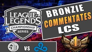 If a Bronzie Commentated LCS