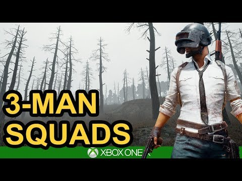 SQUADS - Ben, Chewey & MikeStan / PUBG Xbox One X