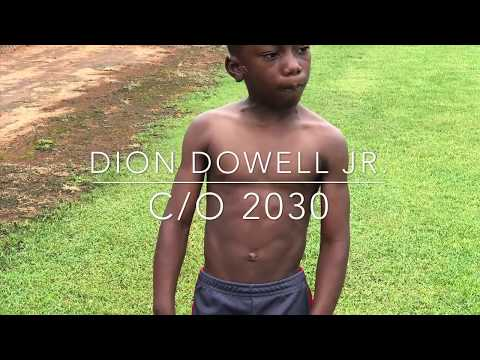 Dion Dowell Jr  Morning Workout
