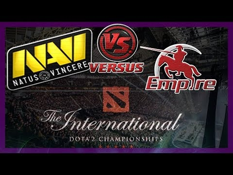 видео: БОМБА! navi vs empire bo1 international 2014 dota 2 #ti4 rus