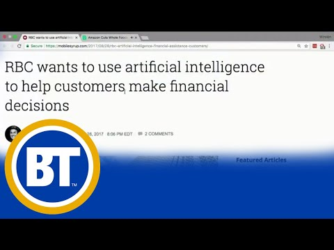 RBC may soon use artificial intelligence to help customers financially
