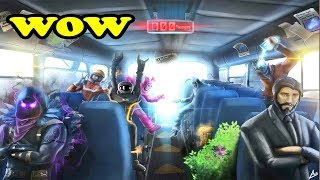 FORTNITE BATTLE BUS INSIDE VIDEO LEAKED? Fortnite Daily Best Funny Moments WINS And FAILS!