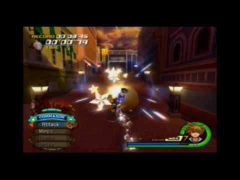 Kingdom Hearts 2 Cargo Climb 6''76 Seconds!