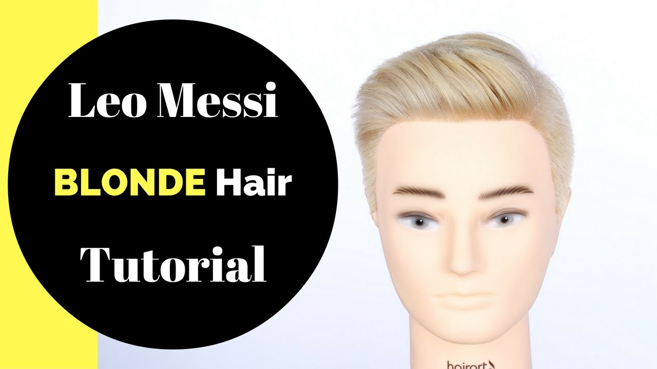 Lionel Messi Blonde Hair Tutorial Thesalonguy Youtube