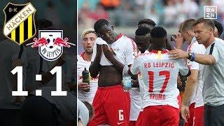 Rote Bullen stolpern in Runde drei: BK Häcken - RB Leipzig 1:1 | Highlights | Europa League | DAZN