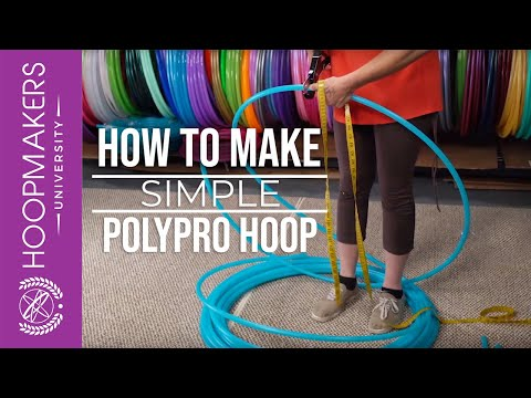 How to Make a Polypro Hoop