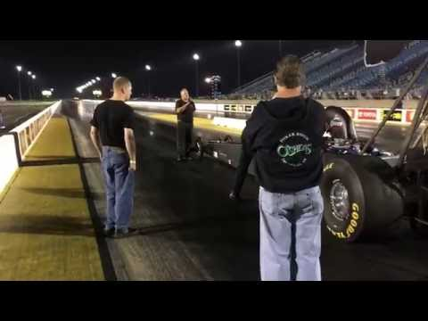 Marina Anderson AFuel Dragster Sept 2016 Test Route 66