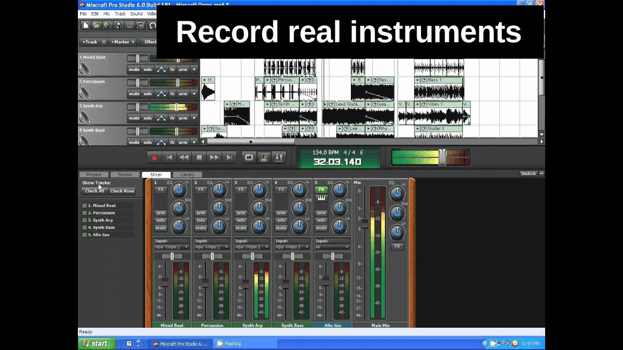 Mixcraft 6 Demo
