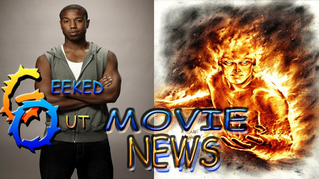 fantastic four reboot news human torch is black youtube