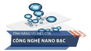 Tính năng ưu việt của công nghệ nano bạc   VTC1