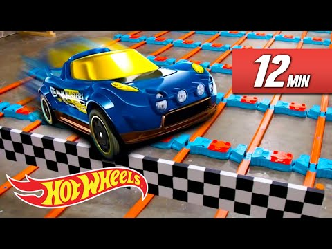 Breaking World Records Unlimited Track! The Best Of Hot Wheels Unlimited | Unlimited | Hot Wheels