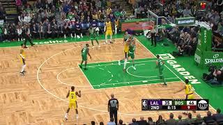 2nd Quarter, One Box Video: Boston Celtics vs. Los Angeles Lakers