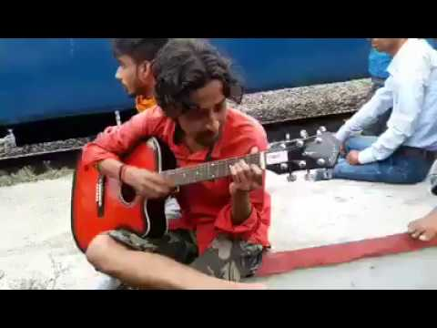 Watch Muskurane ki wajah Tum ho Lovely Song with guitar by Souvik
