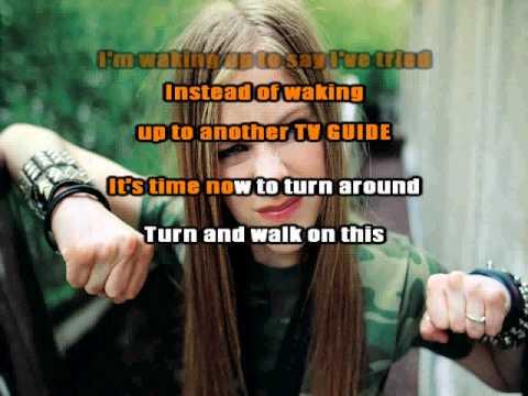 Avril Lavigne - Mobile (Karaoke / Instrumental)