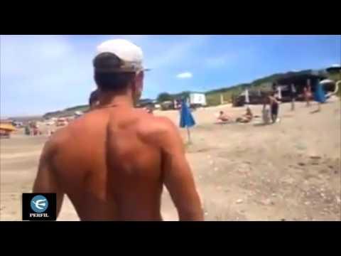 Mar del Plata: quisieron echar a una familia de la playa pública