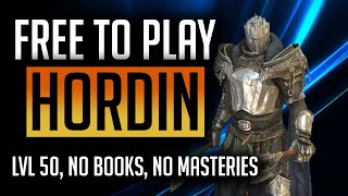 RAID: Shadow Legends | H๐w to build Hordin FTP series! Early game nuker! Level 50, no masteries!