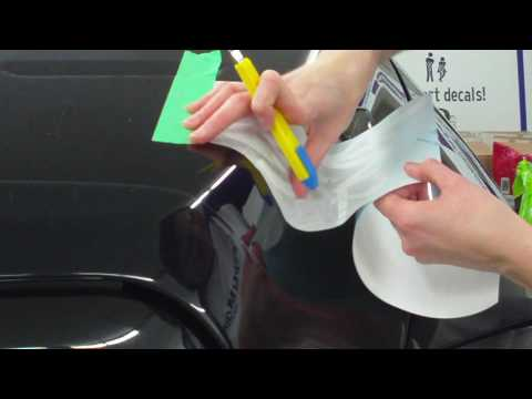 Installing A Decal Over A Curved Surface