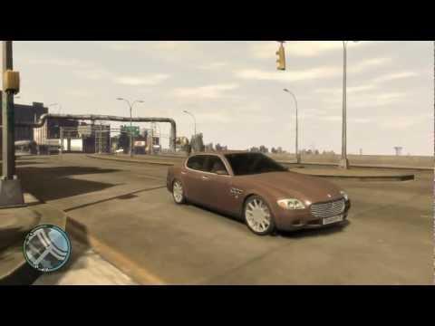 Grand Theft Auto IV - Maserati Quattroporte