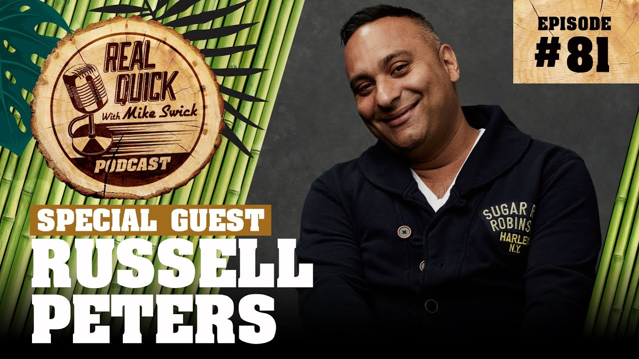 Download Russell Peters EP 81   Real Quick With Mike Swick Podcast