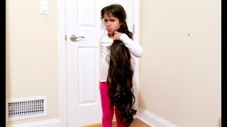 HER HAIR GREW OVERNIGHT!!! **PRANK WAR**